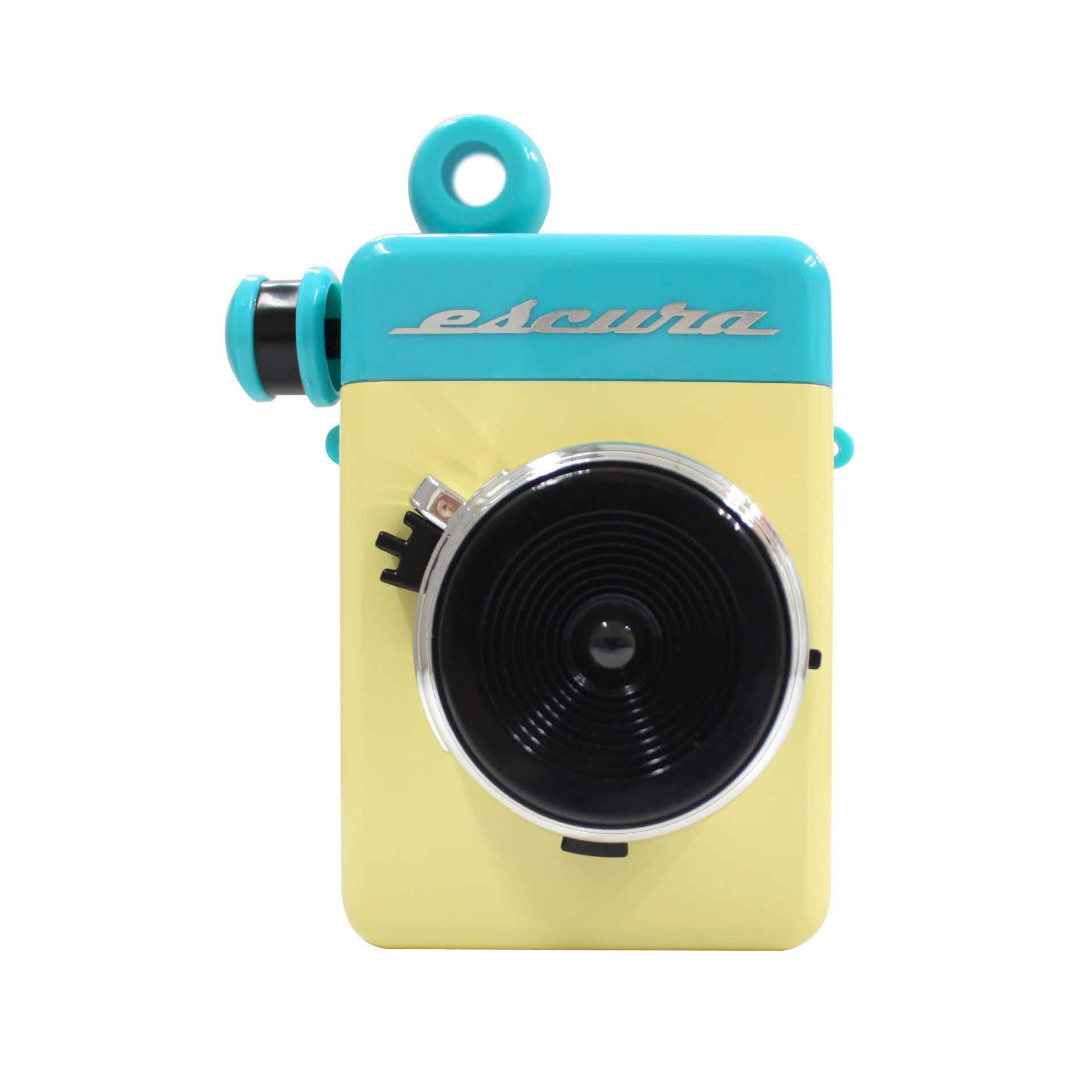 Image of Escura Instant 60s Hand-powered Instant Camera - Blue
