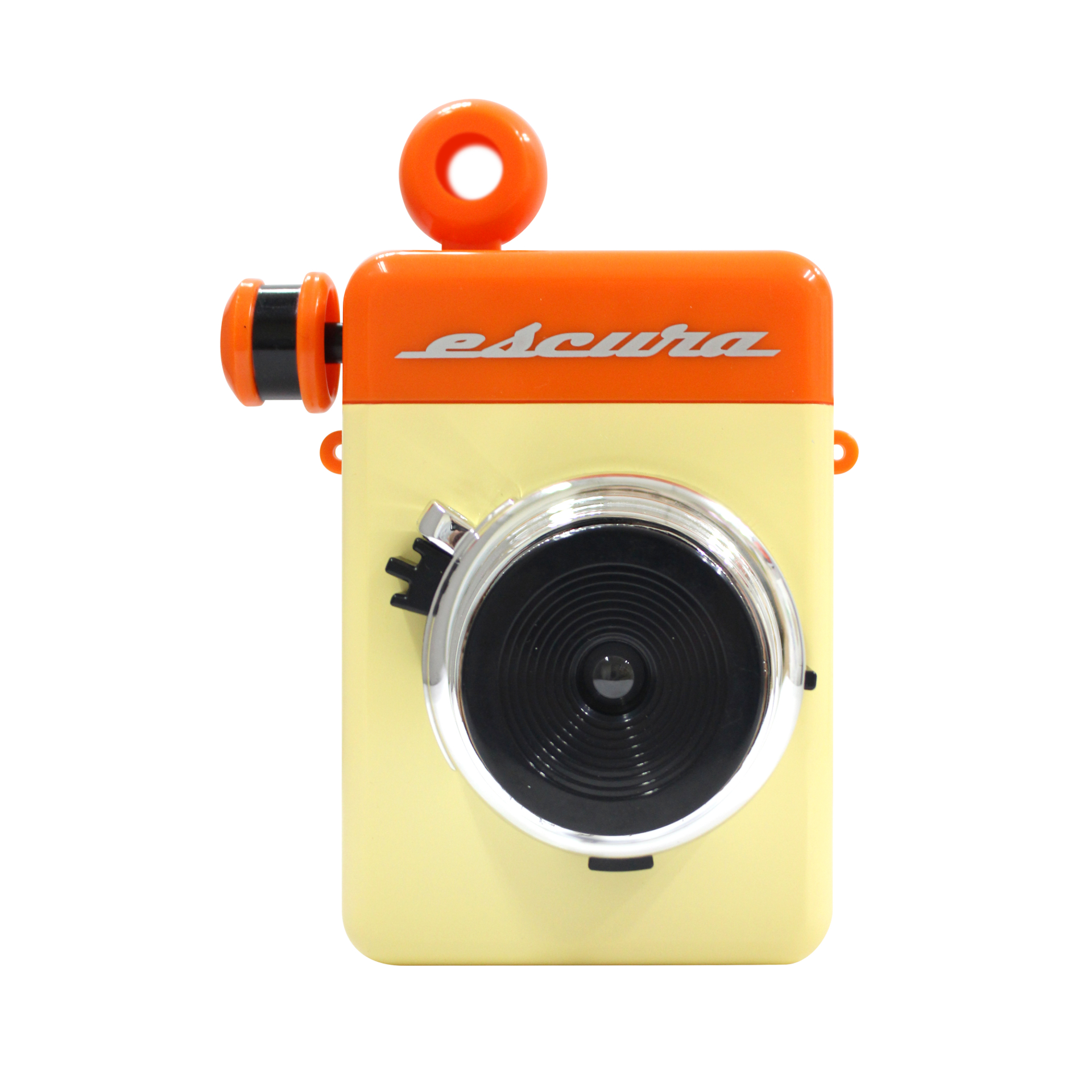 Image of Escura Instant 60s Hand-powered Instant Camera - Orange