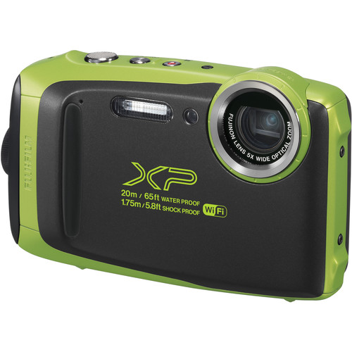 Image of Fujifilm Finepix XP130 Digital Cameras - Lime