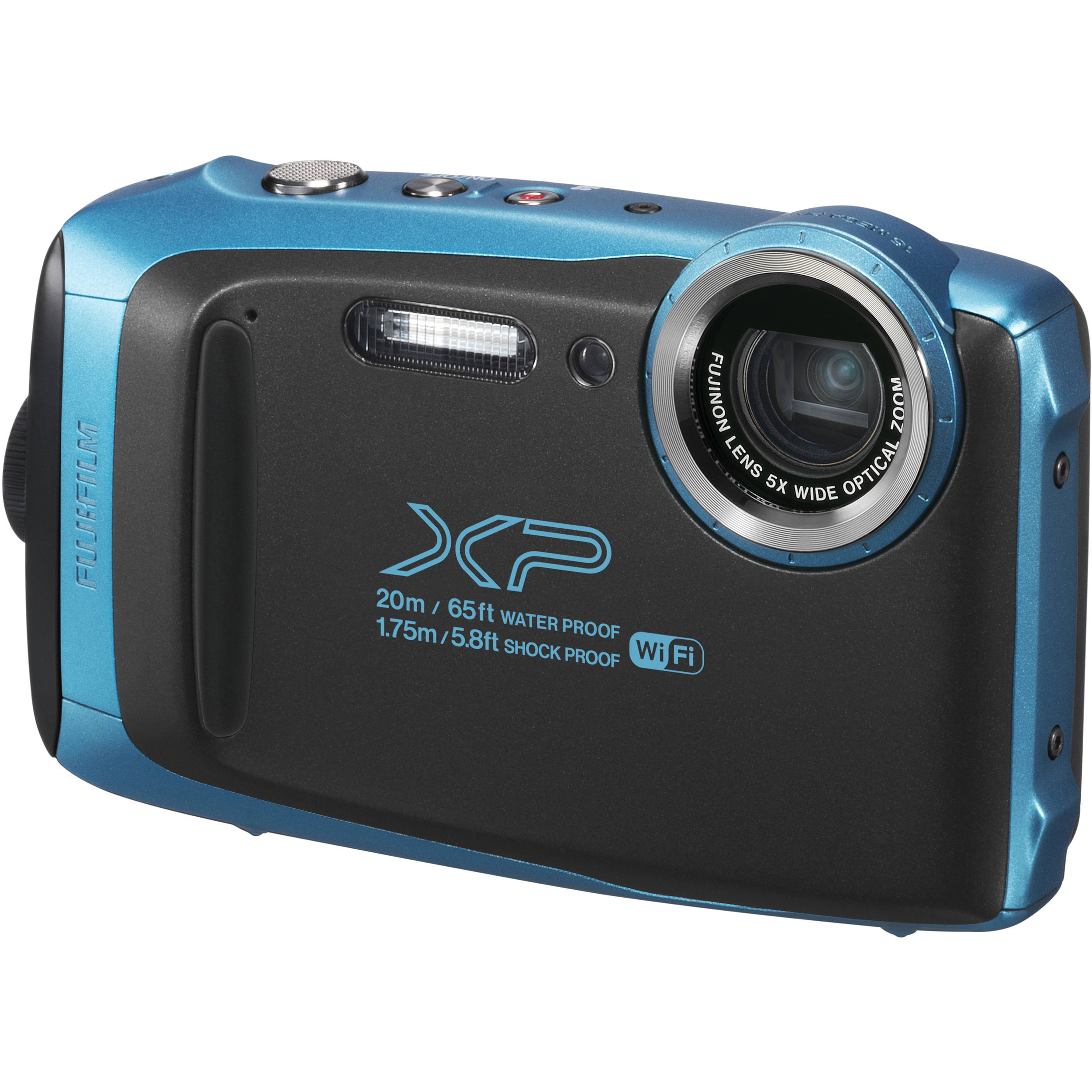 Image of Fujifilm Finepix XP130 Digital Cameras - Sky Blue