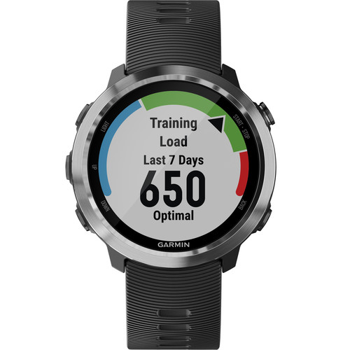 Compare retail prices of Garmin Forerunner 645 Music GPS Sport Watch Black 010 01863 G0 Support EU languages to get the best deal online
