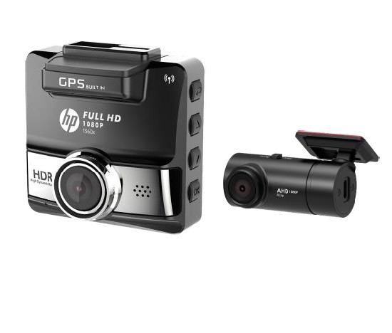 Image of HP f560x + RC3P Car Camcorder