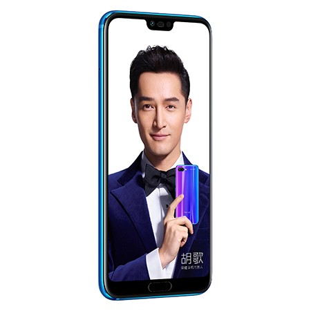 "Image of Honor 10 Dual SIM Smartphone, Android, 5.84"", 4G LTE, SIM Free, 128GB"