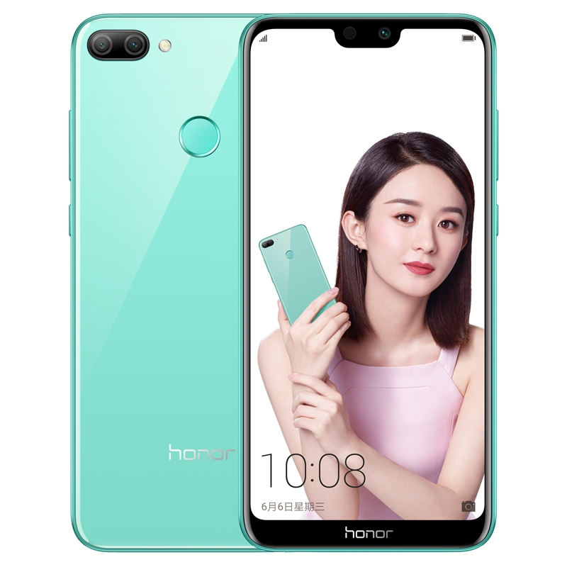 Image of Huawei Honor 9I LLD-AL20 4GB/64GB Dual Sim SIM FREE/ UNLOCKED - Green