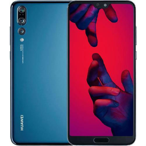 Image of Huawei P20 Pro 6GB/128GB Dual Sim CLT-L29C with Tempered Glass Screen Protector - Midnight Blue