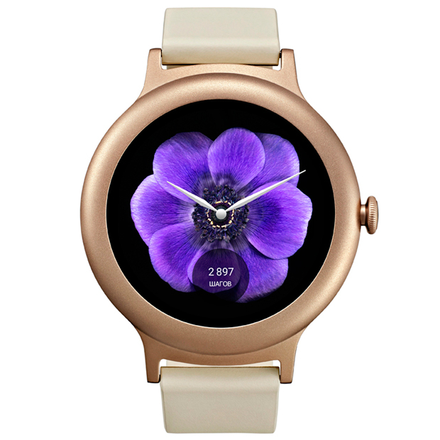 LG Watch Style W270 - Pink Gold