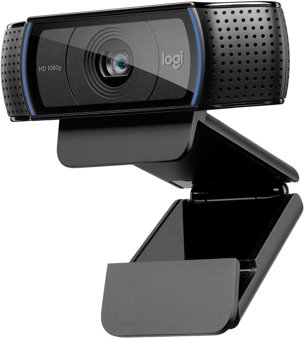 Image of Logitech C920 HD Pro Webcam - Black