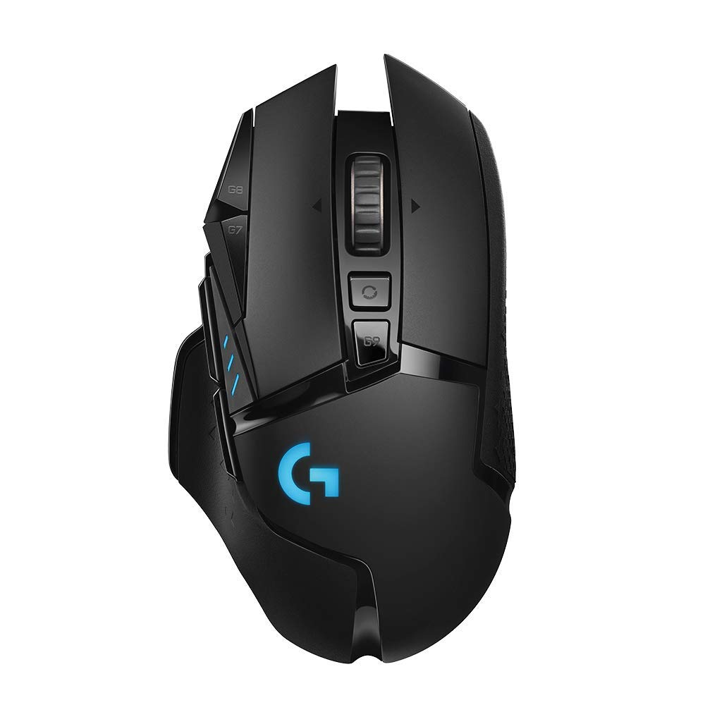 Image of Logitech G502 Lightspeed Wireless Gaming Mouse - Black