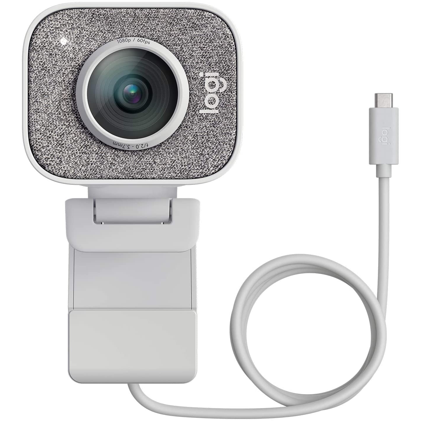 Image of Logitech StreamCam HD Webcam - White