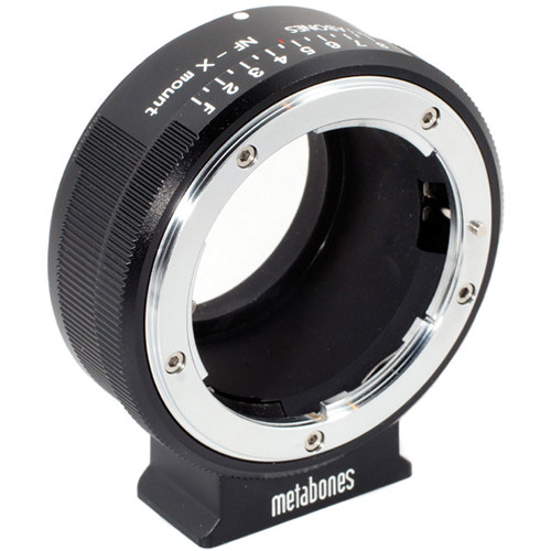 Metabones Nikon G Lens to Fujifilm X Camera Lens Mount Adapter - NFG-X-BM1 - Black