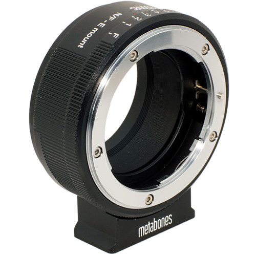 Metabones Nikon G Lens to Sony NEX Camera Lens Mount Adapter - NFG-E-BM1 - Black