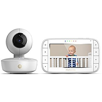 Image of Motorola MBP36XL Portable Video Baby Monitors - White