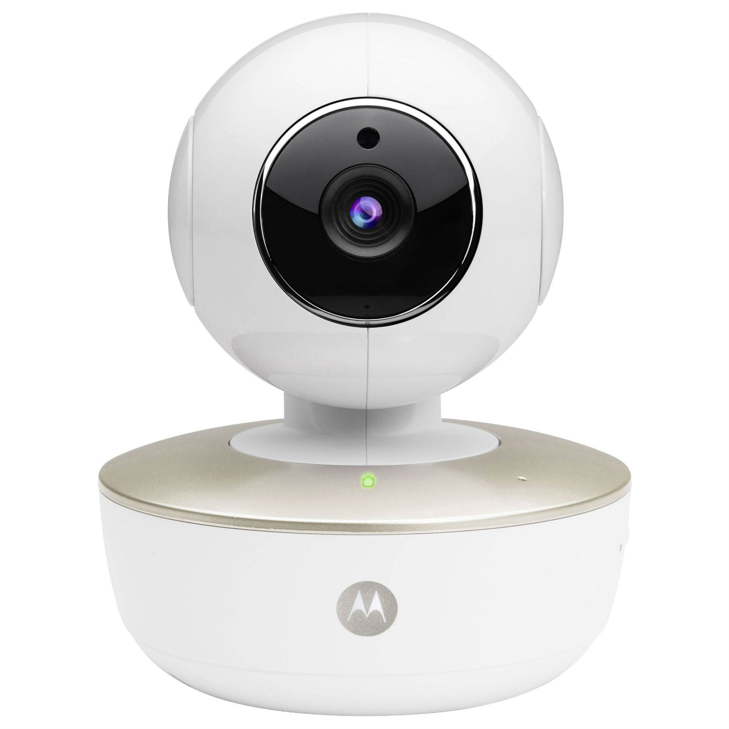 Image of Motorola MBP88CONNECT Portable Wi-Fi Baby Monitor Camera - White