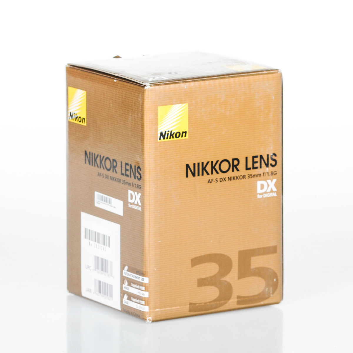 Image of Nikon AF-S DX NIKKOR 35mm f/1.8G Lens