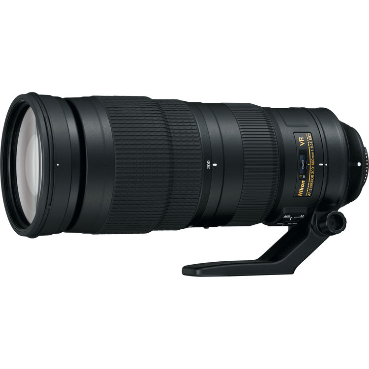 Image of Nikon AF-S NIKKOR 200-500mm f/5.6E ED VR Lenses