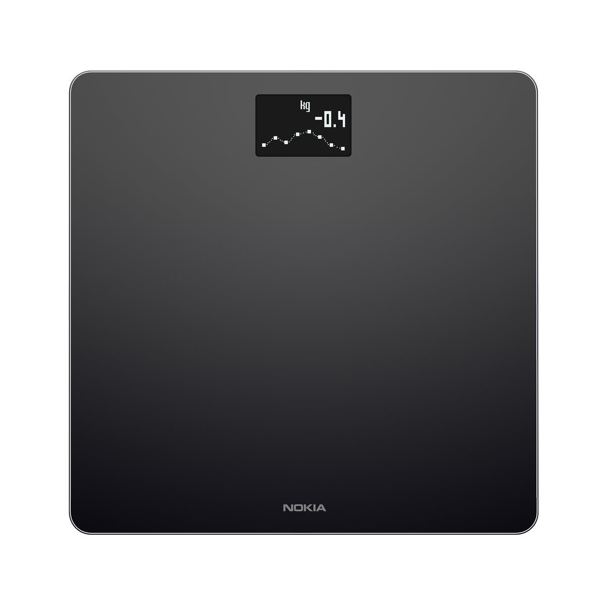 Image of Nokia Body - Weight and BMI Wi-Fi Smart Scale - Black