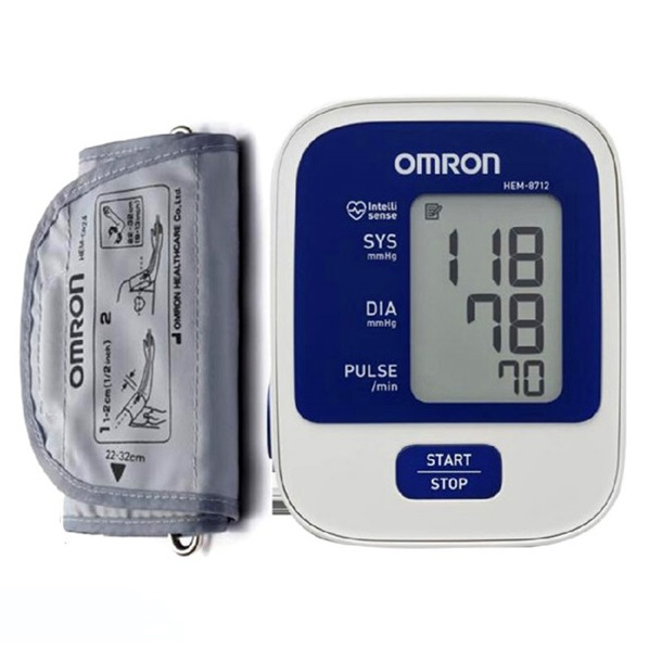 Image of OMRON HEM-8712 Automatic Blood Pressure Monitor