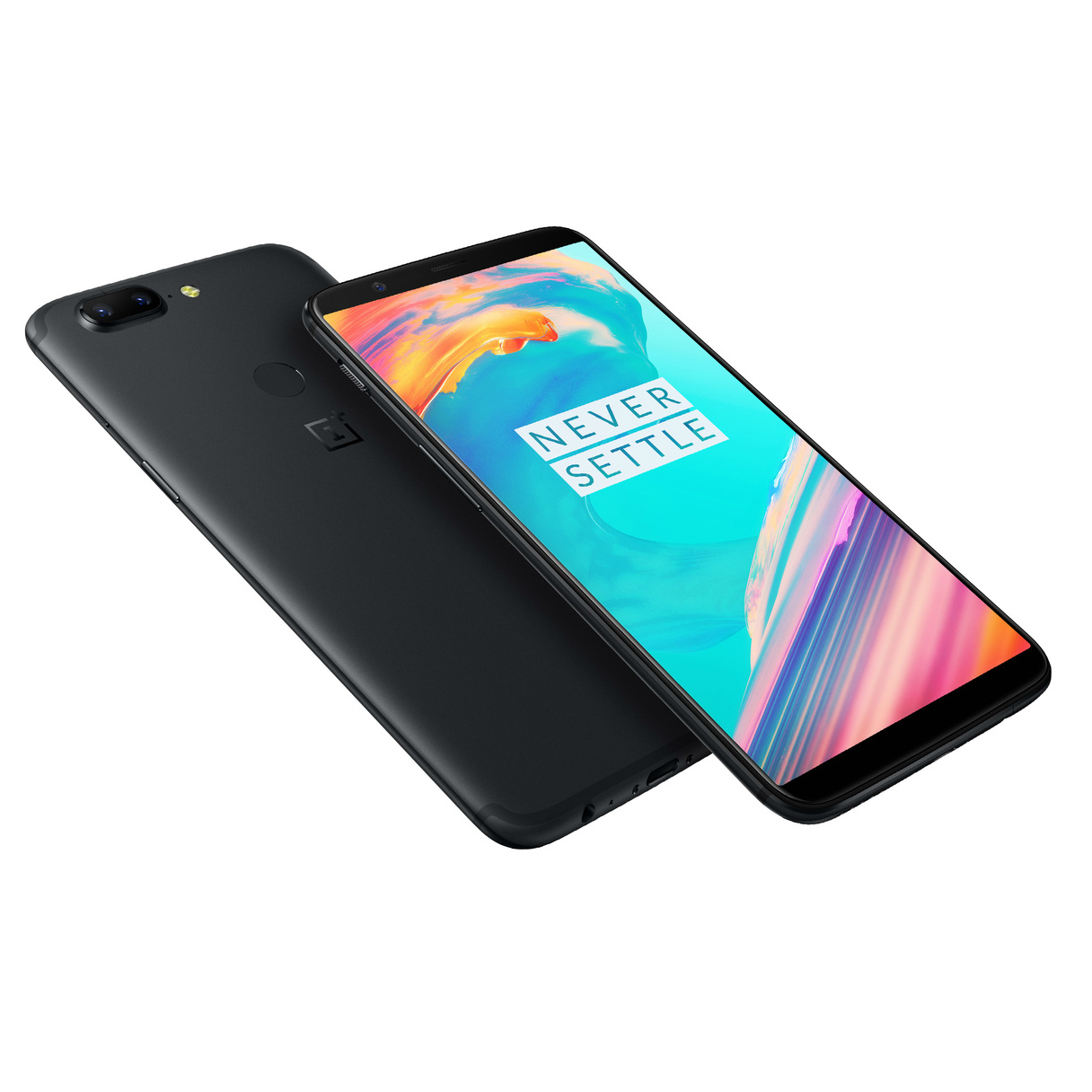 Image of OnePlus 5T A5010 Dual Sim 4G 6GB/64GB - Midnight Black flashed OS