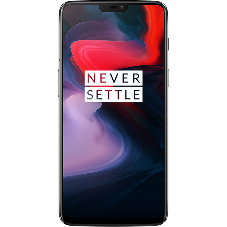 Image of OnePlus 6 6GB/64GB 4G Dual Sim SIM FREE/ UNLOCKED International Spec - Mirror Black