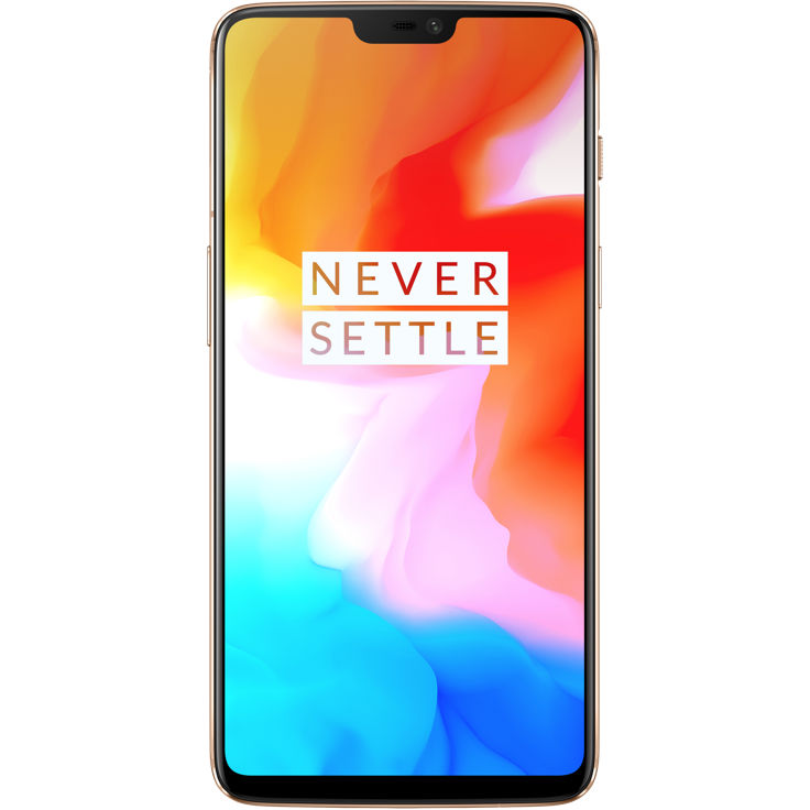 Image of OnePlus 6 8GB/128GB Dual Sim SIM FREE/ UNLOCKED 4G International Spec - Silk White