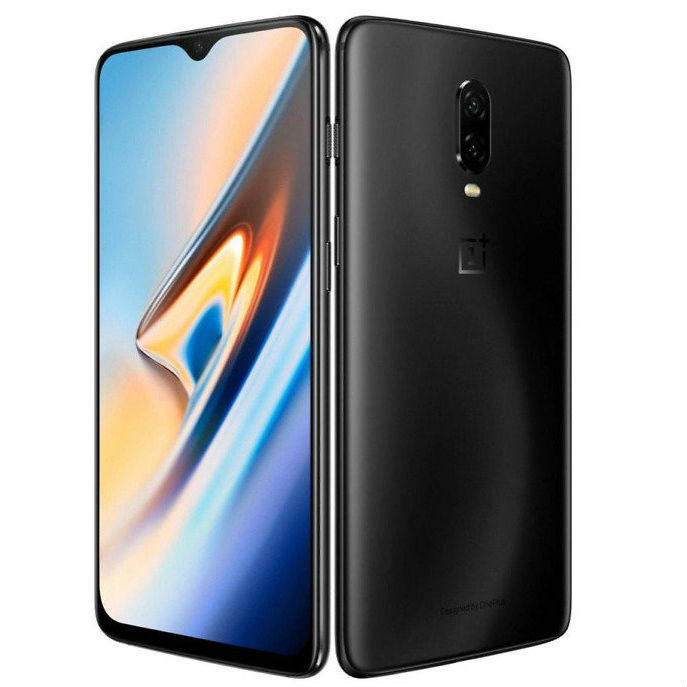 Image of OnePlus 6T A6013 6GB/128GB 4G Dual Sim SIM FREE/ UNLOCKED International Spec - Mirror Black