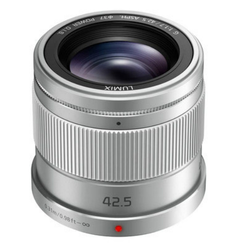 Compare prices for Panasonic H HS043E LUMIX G 42.5mm f1.7 ASPH. POWER O.I.S. Lens Silver