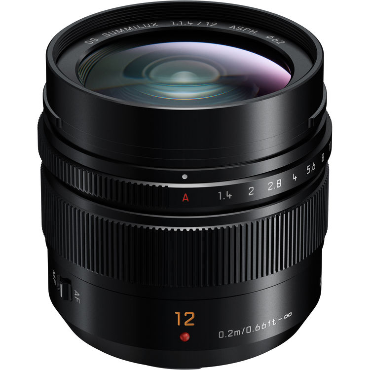 Image of Panasonic Lumix G Leica DG Summilux 12mm F1.4 ASPH Lens