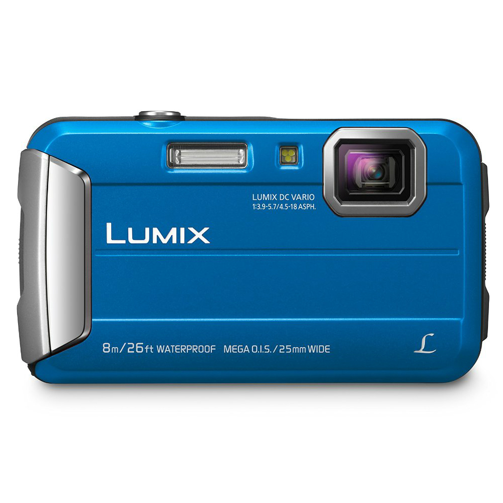 Image of Panasonic Lumix DMC FT30 Digital Cameras - Blue