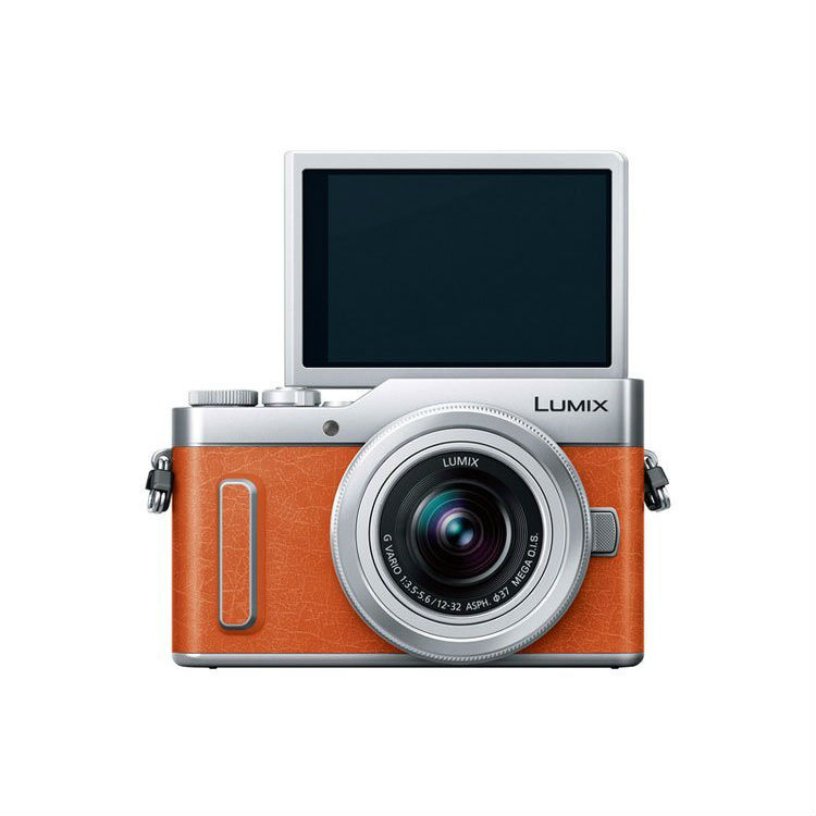 Image of Panasonic Lumix DMC-GF10 Kit with 12-32mm and 35-100mm Lenses Digital Camera - Black