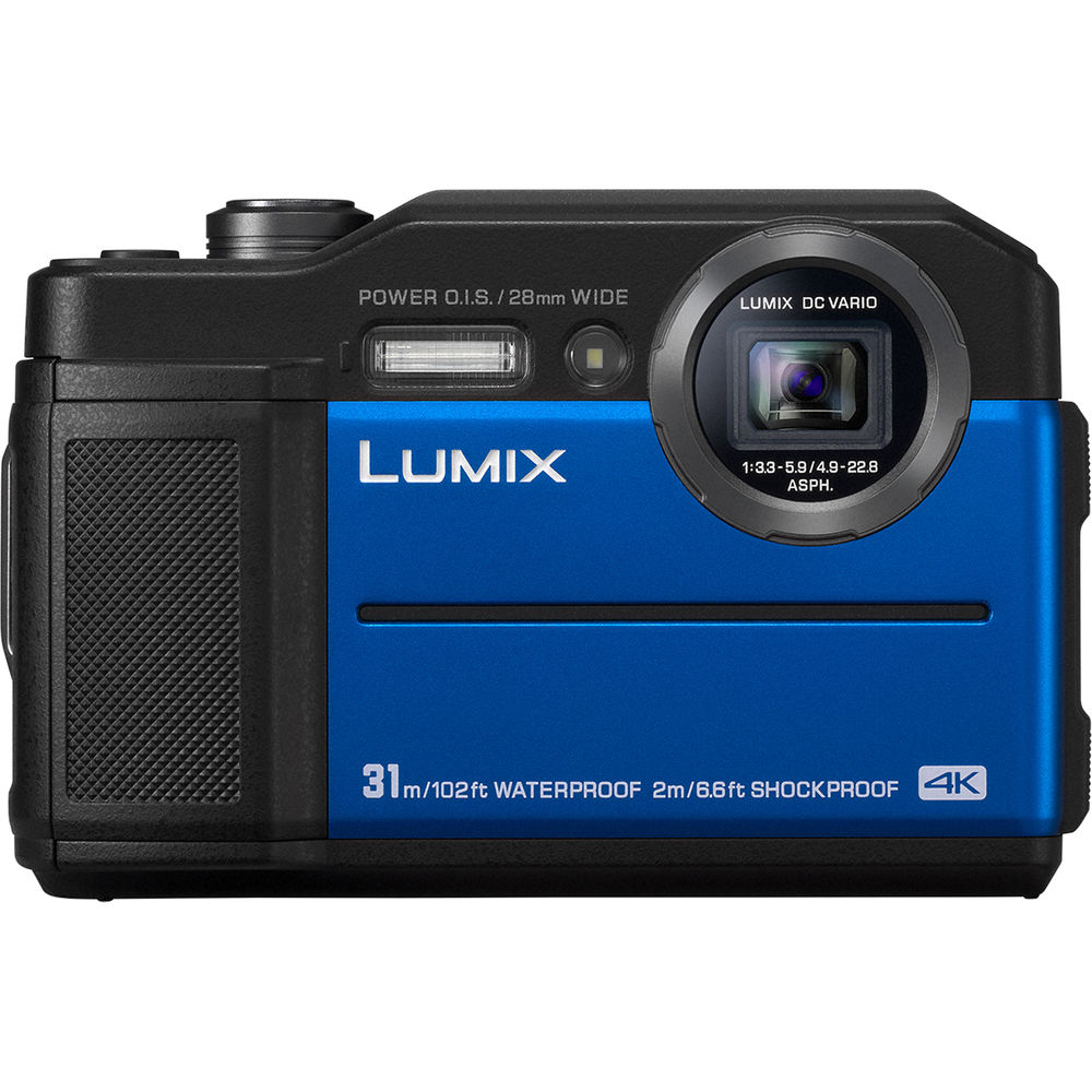 Image of Panasonic Lumix DMC TS7 Digital Cameras - Blue
