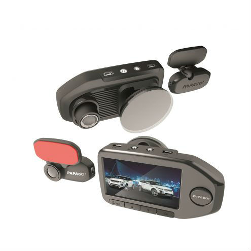PAPAGO GoSafe 760 Dual 2-Channel Car Video Recorder