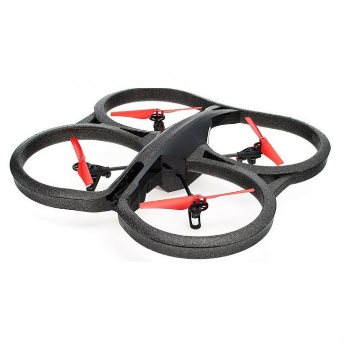 Parrot AR.Drone 2.0 Power Edition Quadcopter - Red