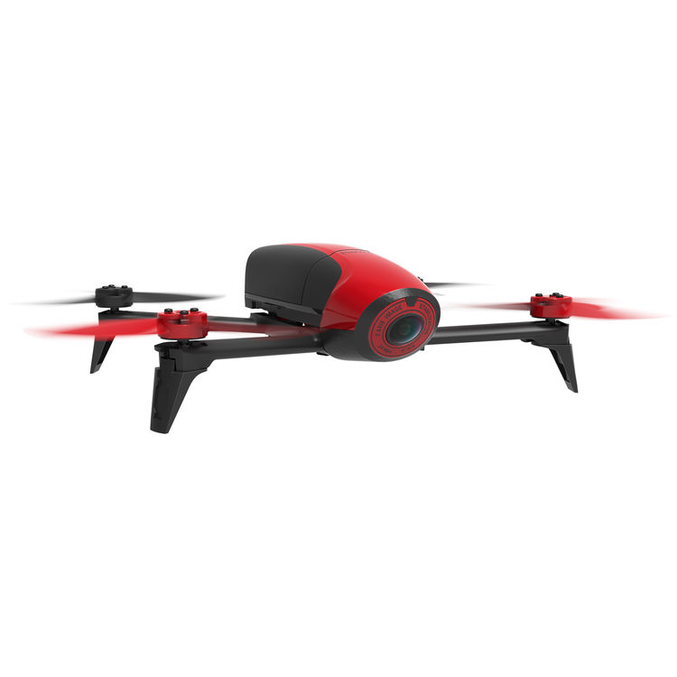 Image of Parrot Bebop 2 Drone without Skycontroller - Red
