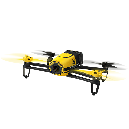 Image of Parrot Bebop Drone without Skycontroller - Yellow