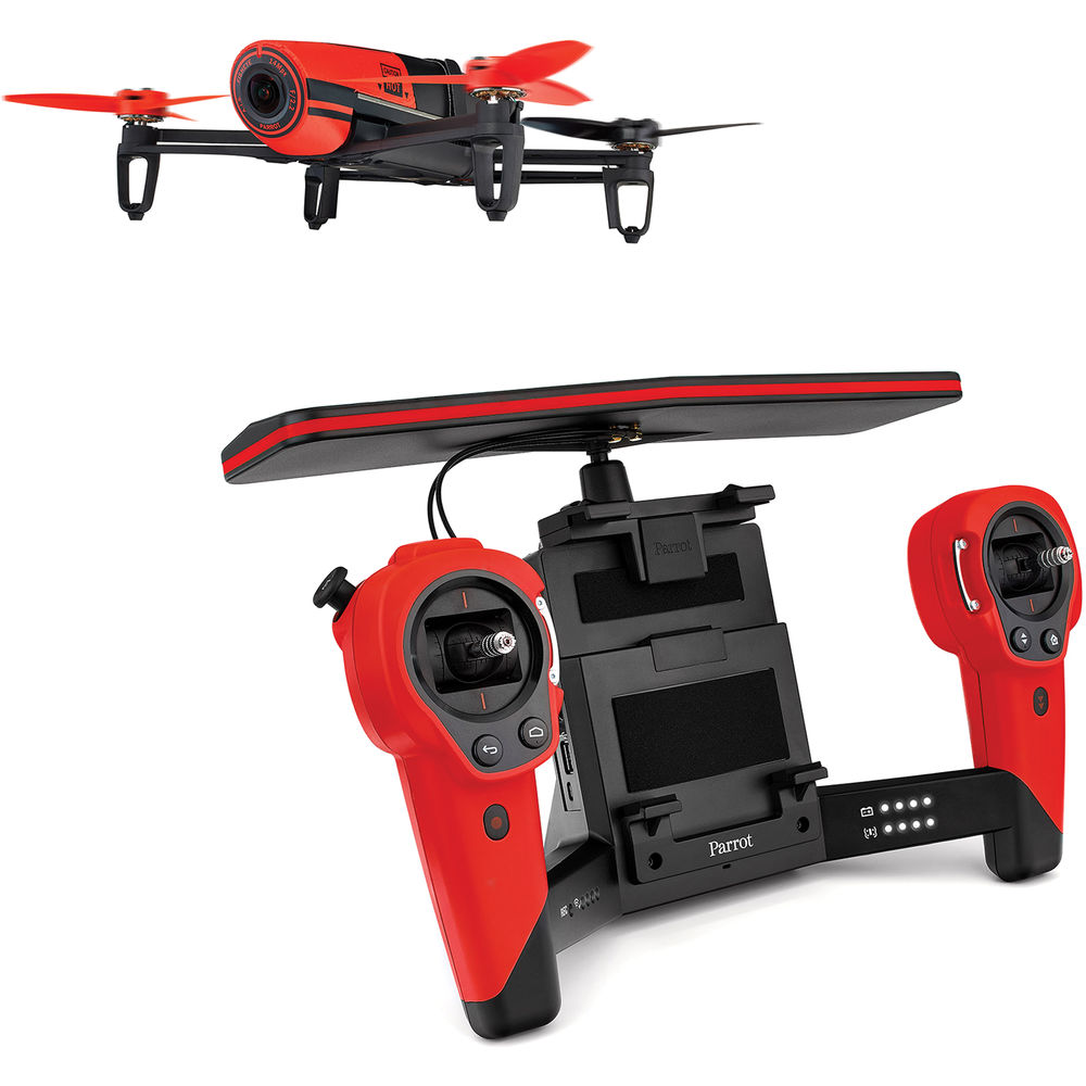 Parrot Bebop Drone with Skycontroller Toy Red