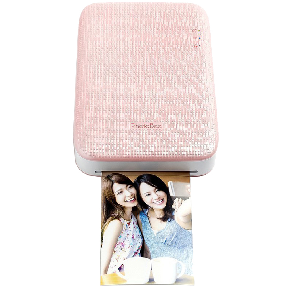Image of Photobee Portable Wifi Photo Printer - Pink