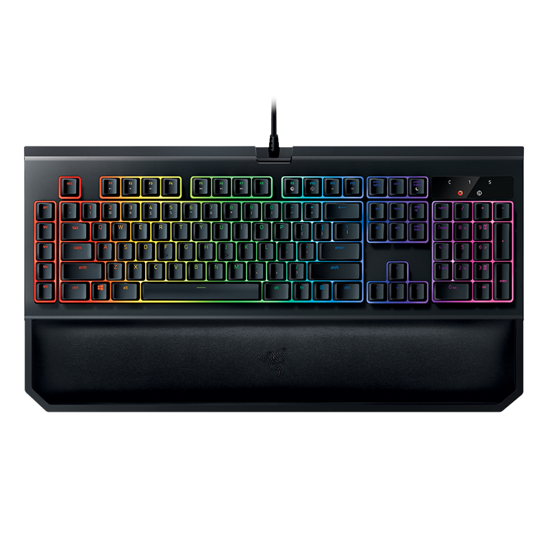 Image of Razer BlackWidow Chroma V2 Green Switch US Layout