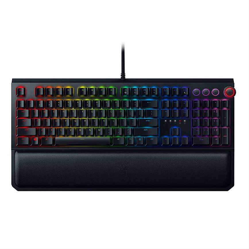 Image of Razer BlackWidow Elite Gaming Keyboard - Black (Razer Orange Switch) (US Layout)