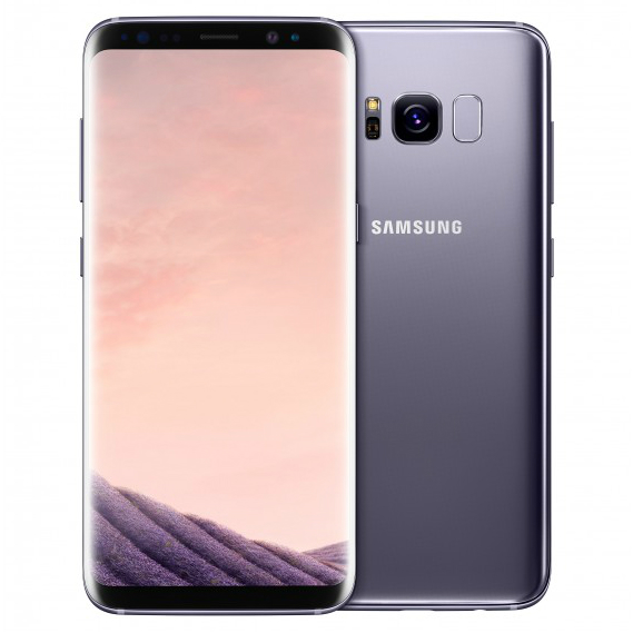 Search and compare best prices of Samsung Galaxy S8 G950FD 4G 64GB Dual Sim SIM FREE/ UNLOCKED - Orchid Gray in UK
