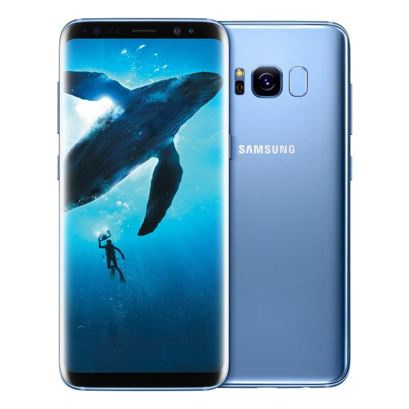 Search and compare best prices of Samsung Galaxy S8 Plus G955FD 4G 64GB Dual Sim SIM FREE/ UNLOCKED- Coral Blue in UK