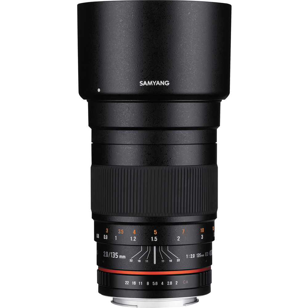 Image of Samyang 135mm F2.0 AE Lens for Nikon