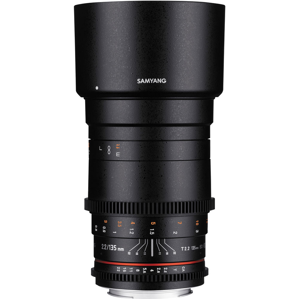 Image of Samyang 135mm T2.2 VDSLR Lenses for Canon