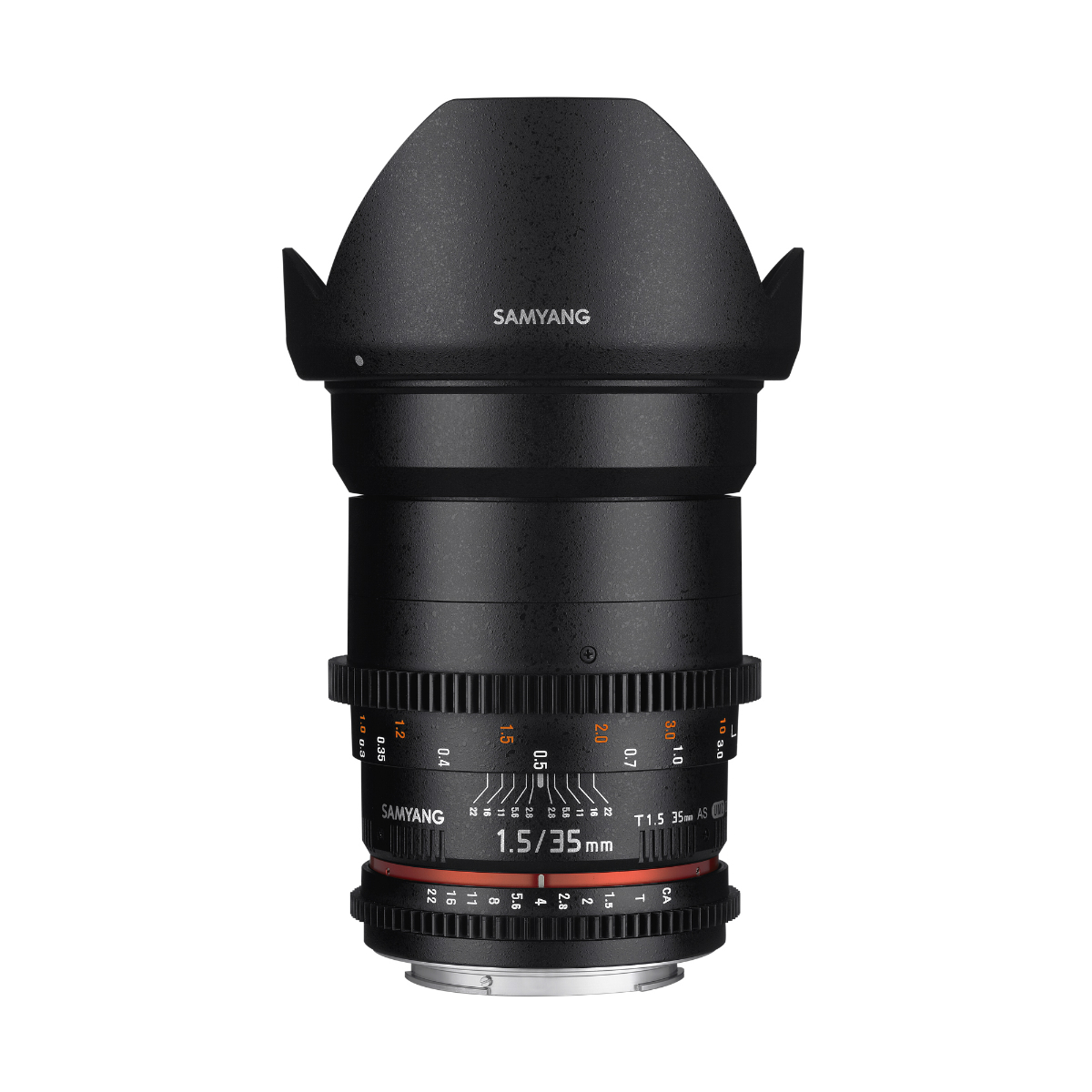 Image of Samyang 35mm T1.5 AS UMC VDSLR II Lenses for Canon
