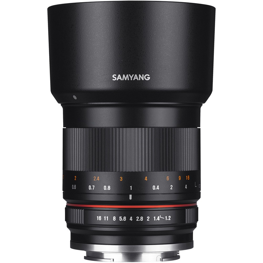 Image of Samyang 50mm f/1.2 AS UMC CS Lens - M4/3 Mount