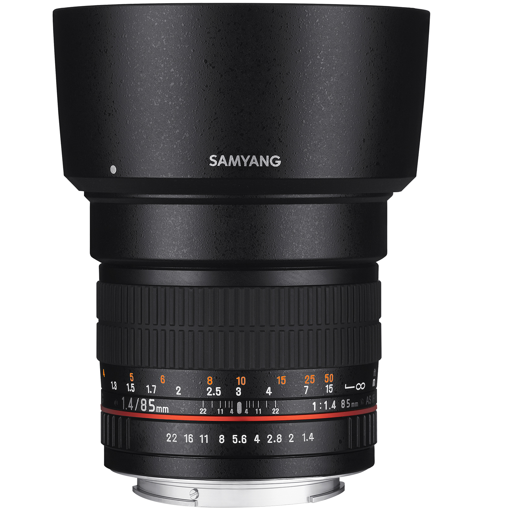 Image of Samyang 85mm f/1.4 AE Lens For Nikon Mount