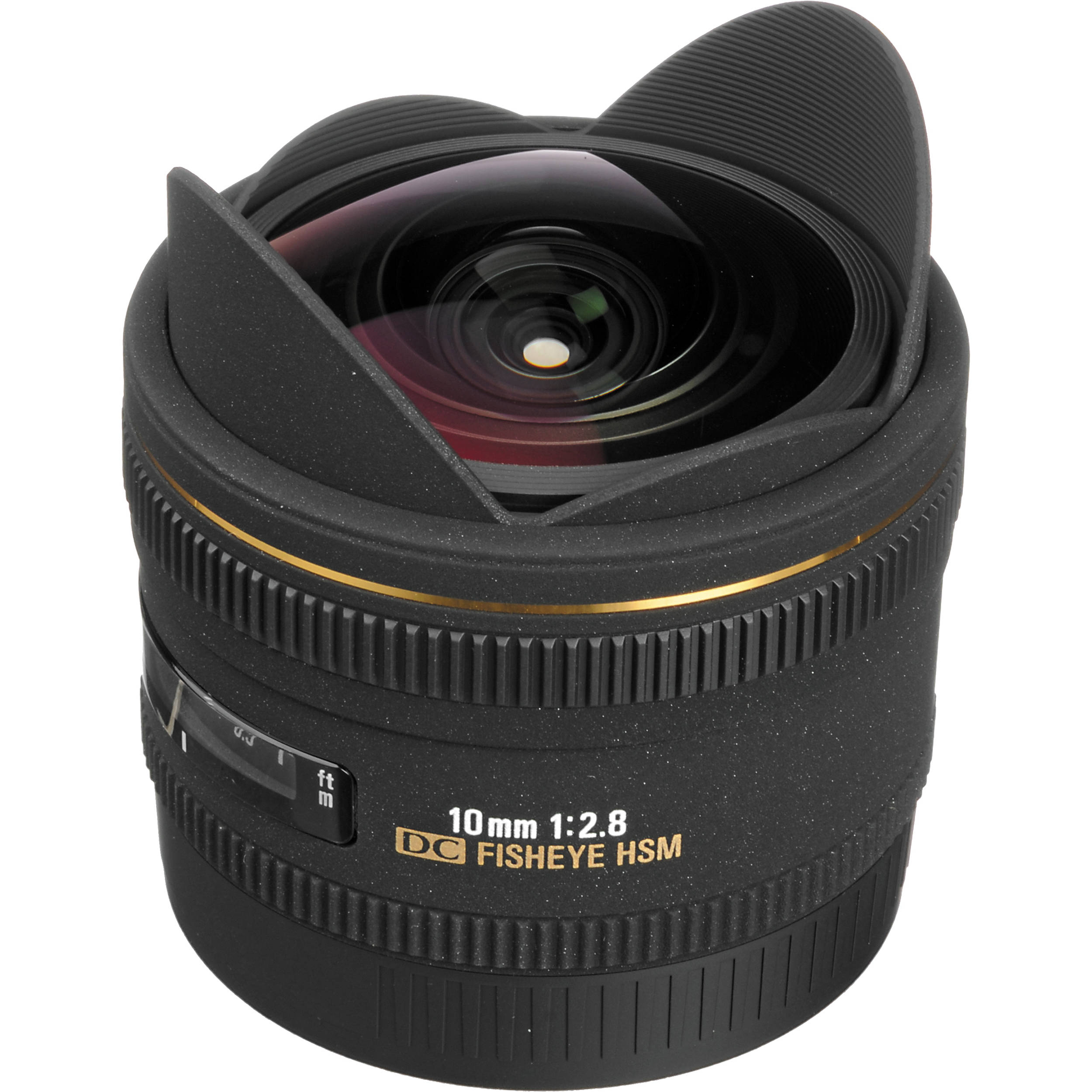 Image of Sigma 10mm f/2.8 EX DC Fisheye HSM Lens For Canon Mount