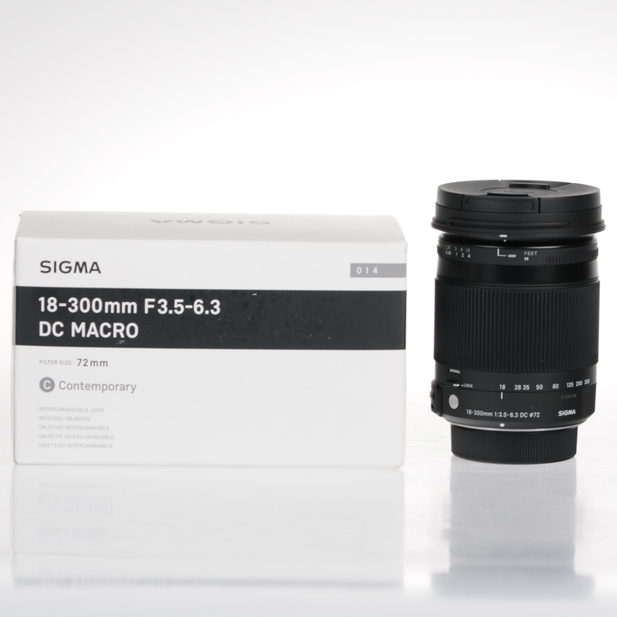 Image of Sigma 18-300mm f/3.5-6.3 DC Macro OS HSM Contemporary Lens - Nikon
