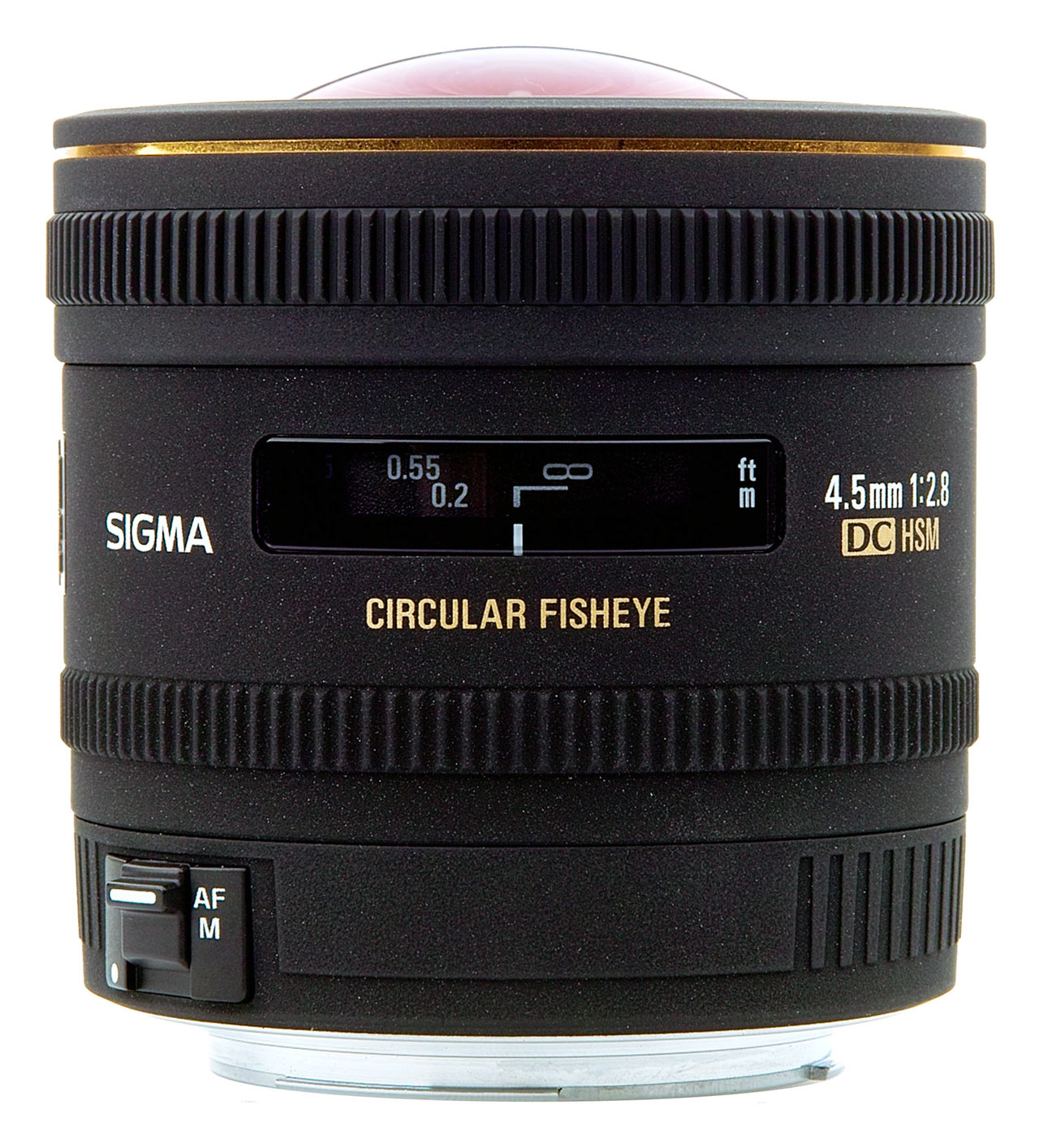 Image of Sigma 4.5mm f/2.8 EX DC Circular Fisheye HSM Lens For Canon Mount
