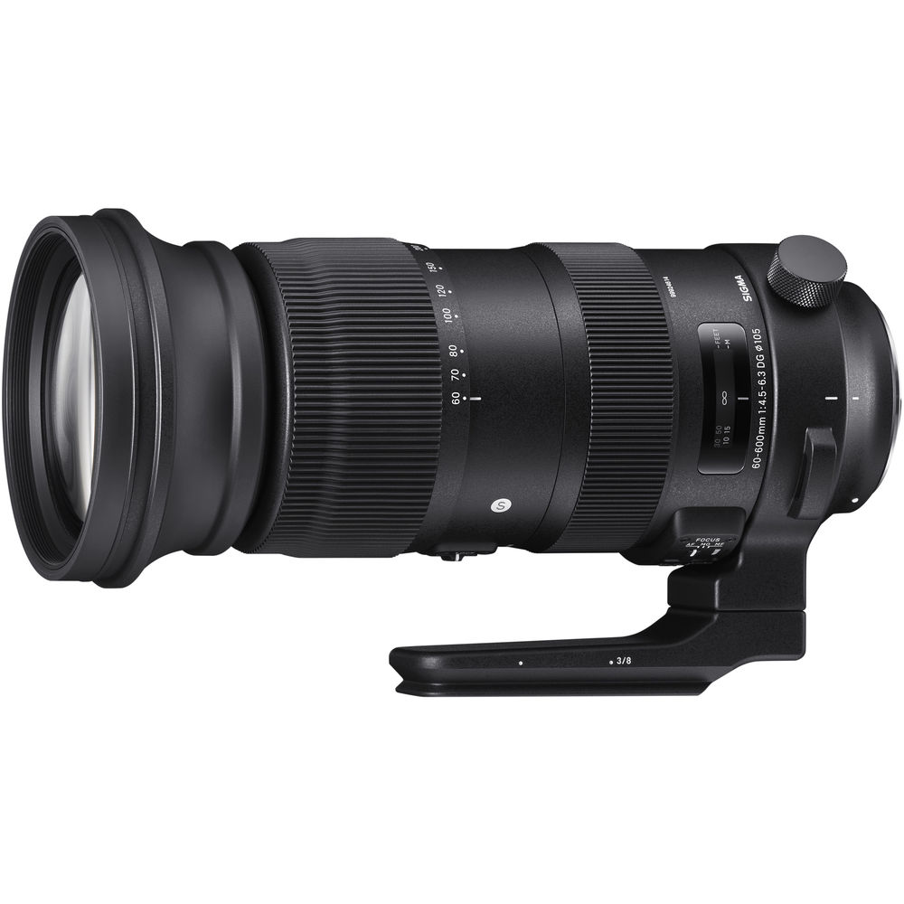 Image of Sigma 60-600mm f/4.5-6.3 DG OS HSM Sports Lens for Canon EF mount