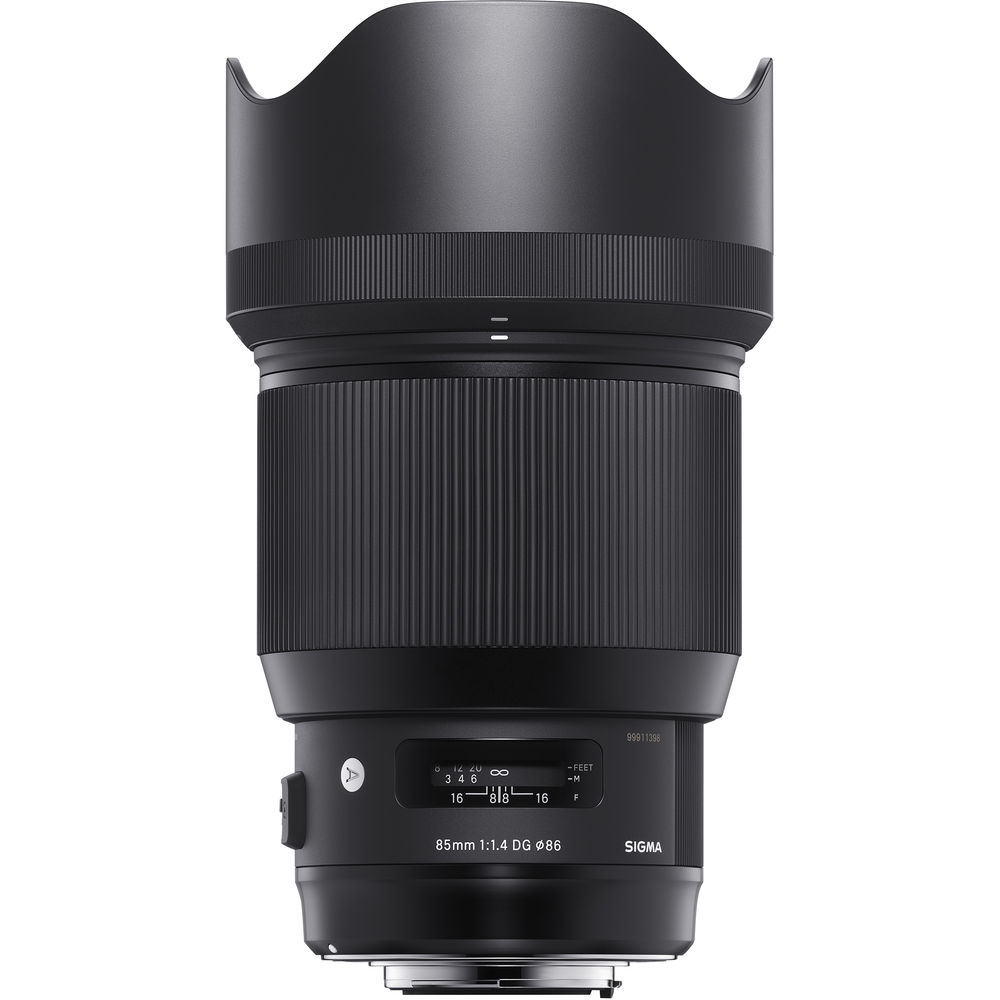 Image of Sigma 85mm f/1.4 DG HSM Art Lens for Nikon mount